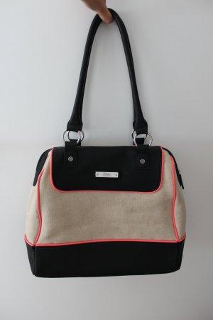 Handtasche von S.Oliver, stylisches Neondetail