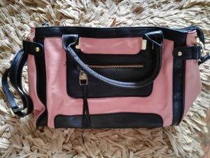 Handtasche von Steve Madden in rosa schwarz, Kunstleder