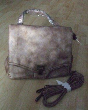 Handtasche von Tamaris - beige metallic