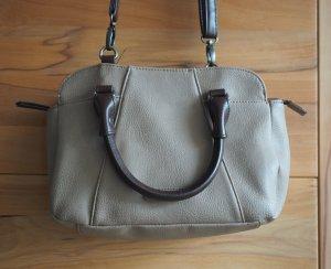 Tamaris Handbag grey brown-dark brown