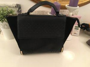 Handtasche von ZARA, Kunstleder, schwarz