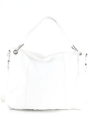 Handtasche weiß Casual-Look