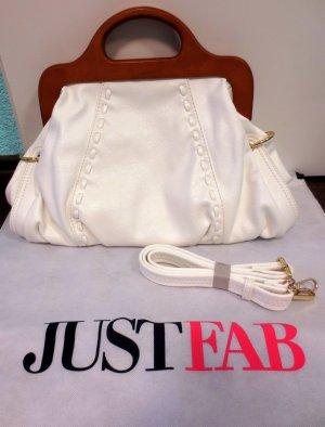 Handtasche weiß Justfab
