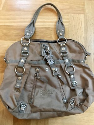 George Gina & Lucy Bolso camel
