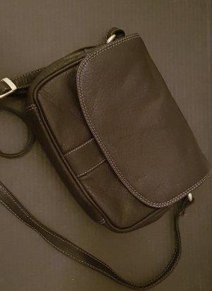 Handtasche zum Umhängen aus Leder