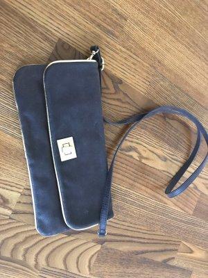 Handtasche zum Umhängen oder als Clutch zu verwenden