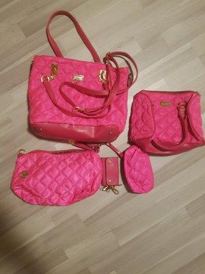 100% Fashion Handtas roze