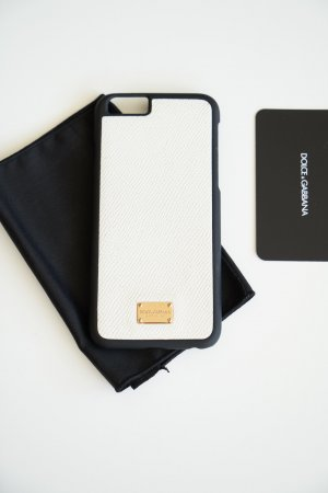 Dolce & Gabbana Mobile Phone Case white-black