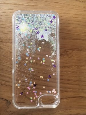 Mobile Phone Case silver-colored synthetic material