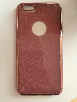 Mobile Phone Case rose-gold-coloured-white
