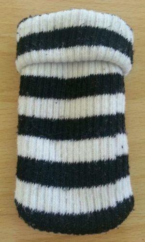 Handy mp3 Tasche Handysocke Hülle schwarz weiß
