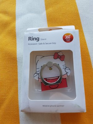 Handy Ring Hello Kitty Motiv Neu