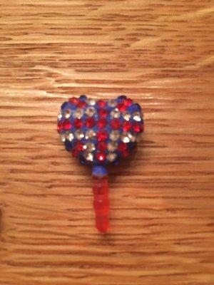 Handy Schmuck - Union Jack Herz - We love Poppy's