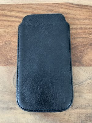 Liebeskind Mobile Phone Case black leather