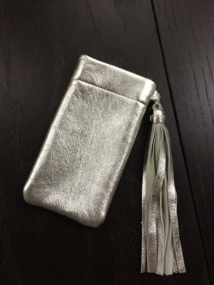 Mobile Phone Case silver-colored