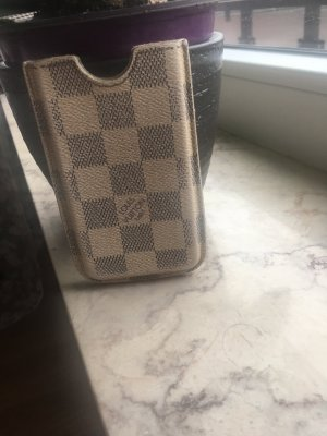 Louis Vuitton Étui pour téléphone portable crème-gris clair