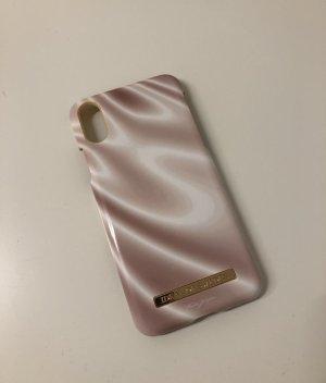 Carcasa para teléfono móvil color rosa dorado-beige