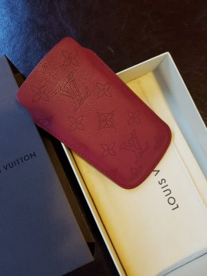 Louis Vuitton Custodia per cellulare bordeaux