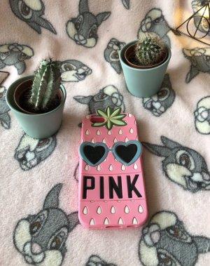 Pink Victoria's Secret Étui pour téléphone portable multicolore