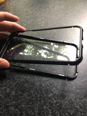 Carcasa para teléfono móvil negro-blanco