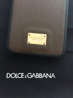 Dolce & Gabbana Étui pour téléphone portable brun