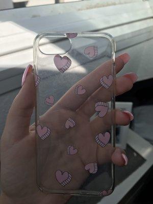 Carcasa para teléfono móvil rosa claro