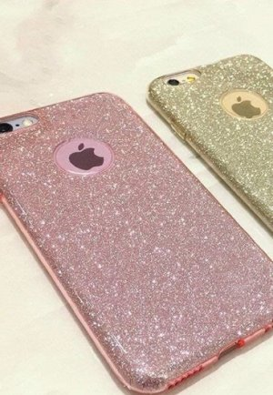Hoesje voor mobiele telefoons roségoud