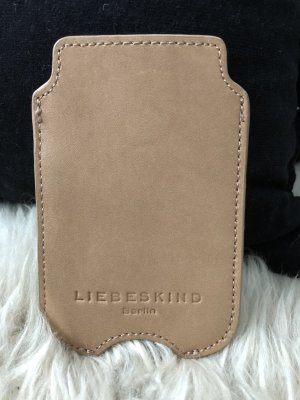 Liebeskind Berlin Mobile Phone Case camel leather