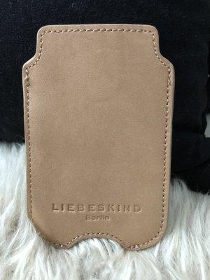 Liebeskind Berlin Carcasa para teléfono móvil camel Cuero