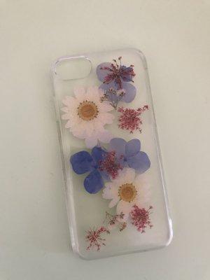 Handyhülle mit gepressten Blumen für iPhone 6