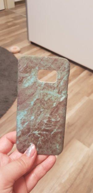 Carcasa para teléfono móvil azul cadete-verde grisáceo