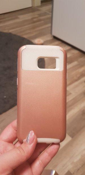 Carcasa para teléfono móvil color rosa dorado-crema