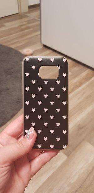 Carcasa para teléfono móvil negro-rosa claro