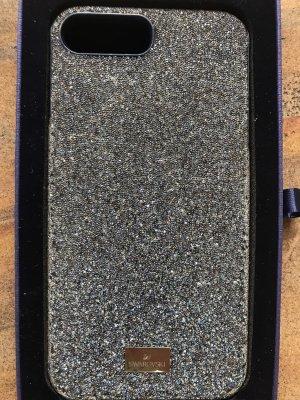 Swarovski Carcasa para teléfono móvil azul