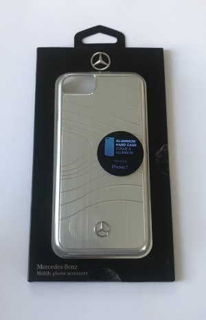 Mercedes Benz Collection Mobile Phone Case silver-colored