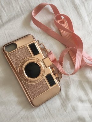 Claires Crossbody bag gold-colored-rose-gold-coloured
