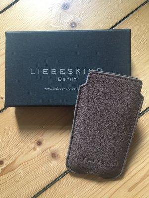 Liebeskind Carcasa para teléfono móvil marrón grisáceo