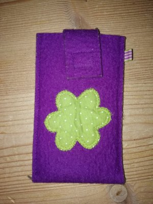 Mobile Phone Case lilac-green