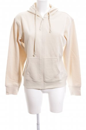 Hanes Sweatjacke creme Casual-Look