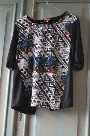 Shirt met print veelkleurig Polyester