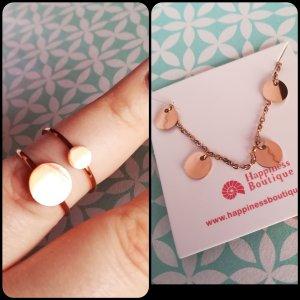 Happiness Boutique Set 2 Ringe + passendes Armband