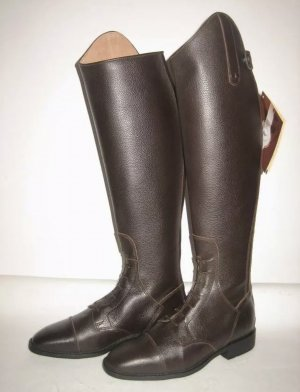 Riding Boots dark brown leather