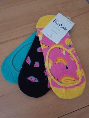 Happy Socks Sneaker Socken 3 Paar Gr. 36-40 Neu