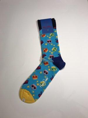 Happy socks Baljurk blauw-geel Katoen