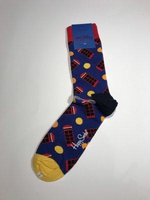 Happy socks Robe chemisier multicolore coton
