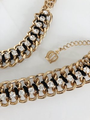 Pompöös by Harald Glöckler Collier Necklace gold-colored-black