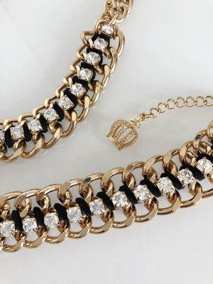 Pompöös by Harald Glöckler Collar estilo collier color oro-negro