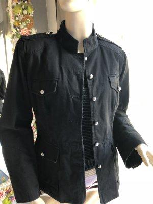 Hard Leather Stuff Giacca militare nero