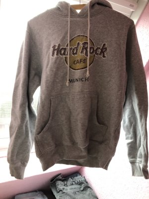 Hard Rock Cafe Hooded Sweater light grey-grey