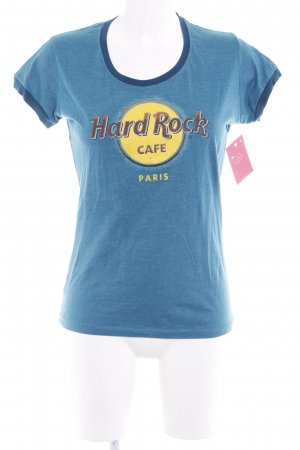 Hard Rock Cafe Shirt met print veelkleurig casual uitstraling